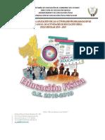 Instructivo e.f. Preescolar