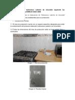 B) Produccion de Malvavisco Cubierto Con Chocolate