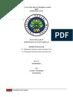 Rencana Pelaksaan Pembelajaran Teknologi Layanan Jaringan Revisi
