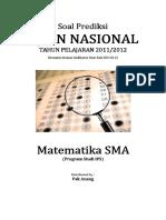 Soal Prediksi Matematika SMA IPS
