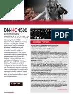 DN HC4500 Datasheet