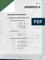 Matrices de Rigideces
