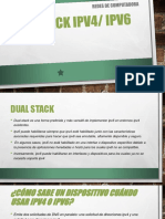 Dual Stack IPv4/ IPv6
