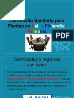 Certificado Fitosanitario Para Plantas en Italia- Finlandia- Rumanía