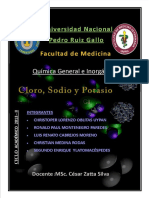 Quimica General Cloro Potacio
