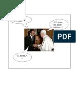 ZP y el Papa