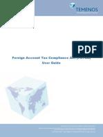 FATCA User Guide Reporting