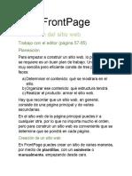 FrontPage Resumen