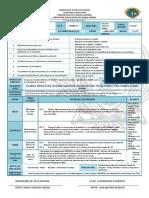 Planeación Mensual Octubre Ciencias I Biología - Aprendizajes clave