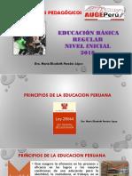 CAPACITACION INICIAL Principios Educacion