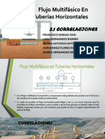 flujo  multifacico en tuberias horzontales
