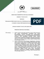 PP Nomor 37 Tahun 2018 Ttg Perlakuan Perpajakan-PNBP Di Bidang Usaha Pertambangan Mineral