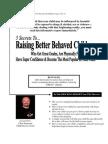 Raising Better Behaved Children
