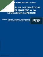 Problemas de Matemáticas Para El Ingreso a La Educ... ---- (Pg 1--25)