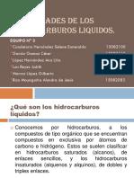 Propiedades de Los Hidrocarburos Líquidos