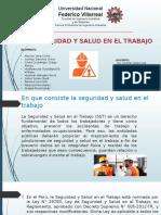 Ley de Seguridad y Salud en El Trabajo1