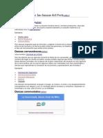 Clasificación de las danzas del Perú.docx