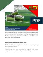 HANYA DI SINI KUALITAS TERBAIK, Lapangan Futsal Lantai Plastik, WA 0821-8620-5040