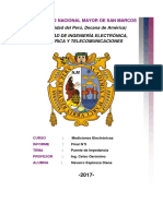 Informe Final Puente de Impedancia