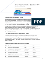 List of All International Airports in India – Download PDF@Www.letsstudytogether.co
