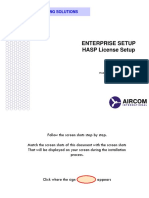 6 - Enterprise Setup (License Setup)