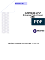 11 - Enterprise Setup (Project Import)