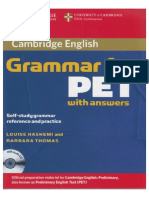312147050 Cambridge Grammar for Pet With Answers 1