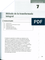 Metodo de La Transformada Integral