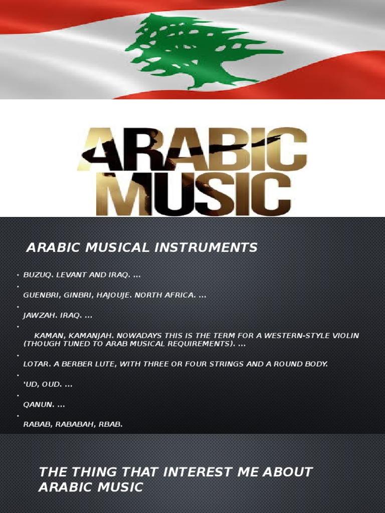 arabic music a