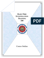 Bfp-sop on Fire and Arson Investigation