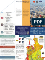 Earthquake Risk Atlas Brochure for Dhaka