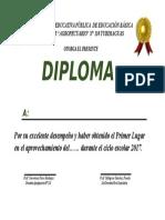 Diploma en Word 2017