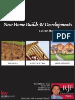 New Builder Marketing Brochure