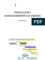 produccion y almacenamiento de energia