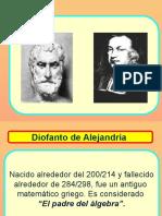 Historia de Diofanto