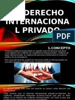 El Derecho Internacional Privado