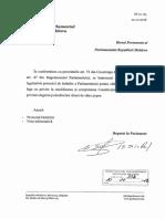 Proiectul hotărîrii pentru elaborarea proiectului de lege cu privire la modificarea și completarea Constituției Republicii Moldova privind alegerea judecătorilor direct de către popor