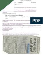 91018 Online RTI Shri Gopal Soni