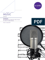 AQA Music a Level Syllabus 7272