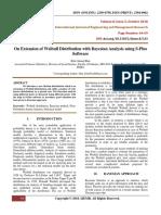 OnExtensionOfWeibullDistributionWithBayesianAnalysisUsingSPlusSoftware.PDF