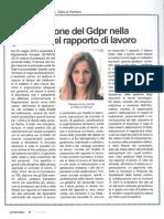 Applicazione Del GDPR