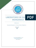 Lab Inorganica  informe 4 2017