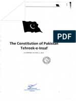 PTI  Constitution ( Page 1- 23)