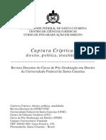 A Vida Nua Como Conceito Politico, uma Genealogia (CORREA, M. D. C., Captura Criptica, n2, V2, 2010)