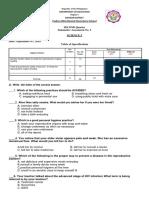 3rd Summative Test SCIENCE 5