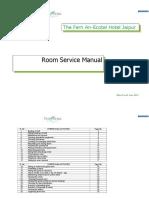 The Fern Room Service-SOP