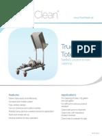 TrueClean Tote Cleaner Data Sheet2