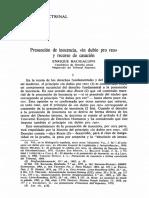 Bacigalupo-Presunción de Inocencia, In Dubio Pro Reo y Recurso de Casació
