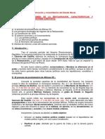 PAU.6. Régimen de La Restauración y Sistema Canovista