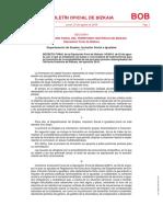ADMINISTRACIÓN FORAL DEL TERRITORIO HISTÓRICO DE BIZKAIA Diputación Foral de Bizkaia Departamento de Empleo, Inclusión Social e Igualdad